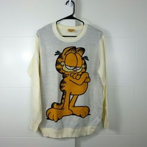 Men's Size M Urban Outfitters Garfield Sweater